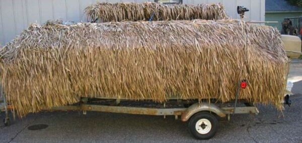 * 35quot;x 60#x27; Commercial Duck Blind Boat Waterfowl Goose Mexican Thatch Grass Roll