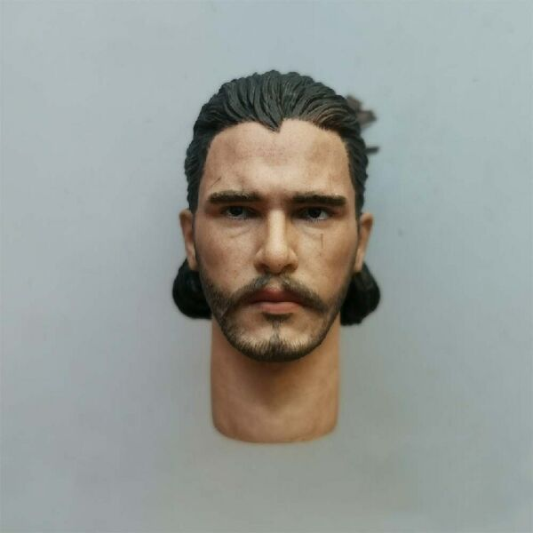 1 6 John Snow Head Carving Version 2.0 Model Fit 12quot; Male Action Figure Body