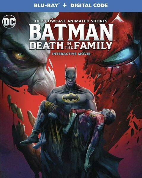 BATMAN:DEATH IN THE FAMILY BLU RAYDIGITAL W SLIPCOVER NEW FREE SHIPPING $20.99