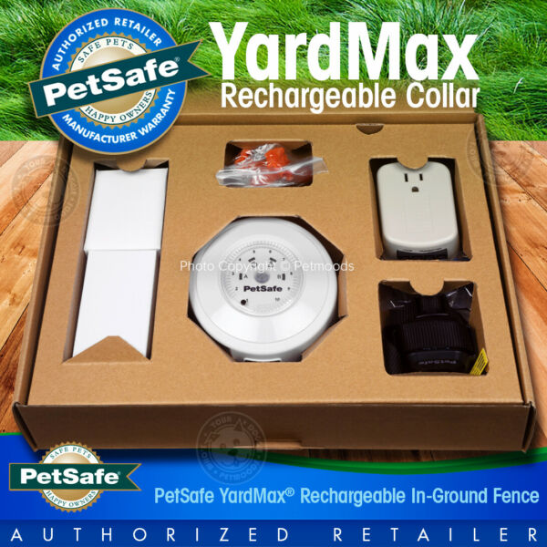PetSafe YardMax Dog In Ground Fence Transmitter Collar Flags amp; Surge Protector $239.95