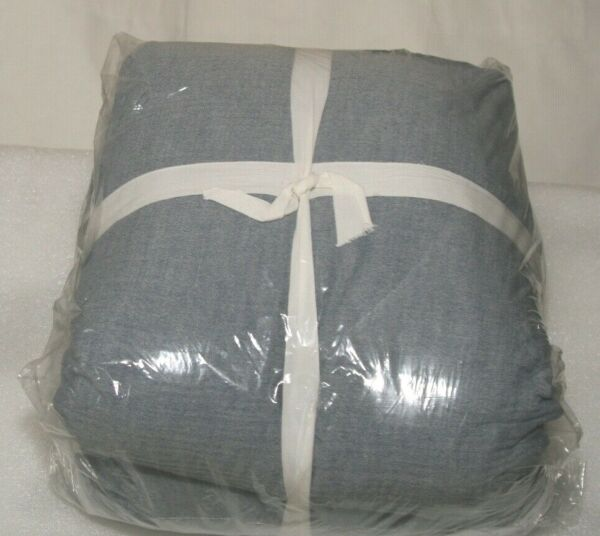 Pottery Barn New Opened Blue Soft Cotton Duvet Cover King Cal. King $109.95