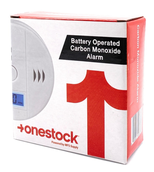 Battery Operated Carbon Monoxide Detector Alarm With LED Digital Display $17.99