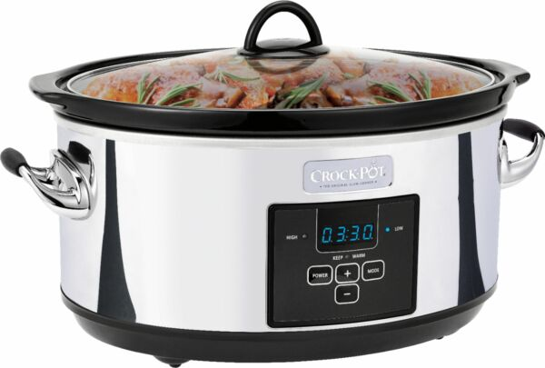 Crock Pot 7qt Digital Slow Cooker Platinum