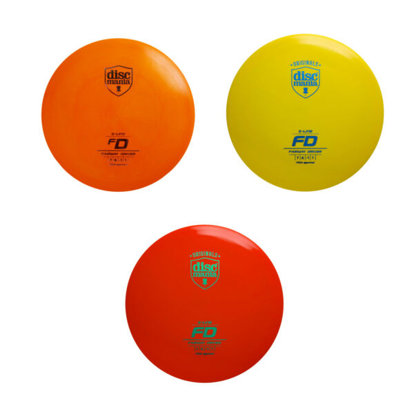 Discmania Disc Golf FD Fairway Driver S Line Choose Your Color and Weight