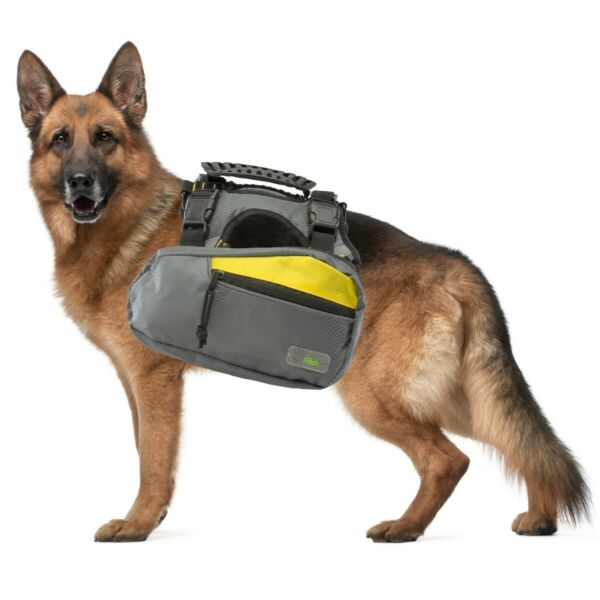2 in 1 Dog Large Harness and Hiking Backpack For Outdoor Use Gear Travel Camping $22.00