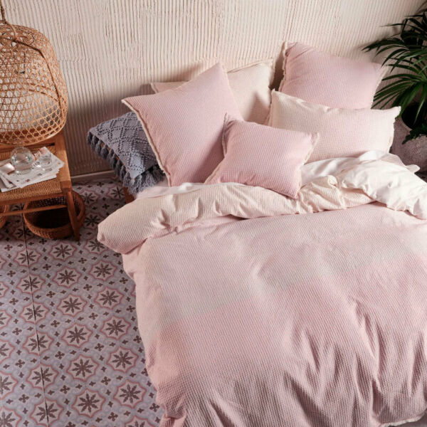 Linen House Lagos Blossom Quilt Duvet Doona Cover Set 100% Cotton NEW AU $208.79