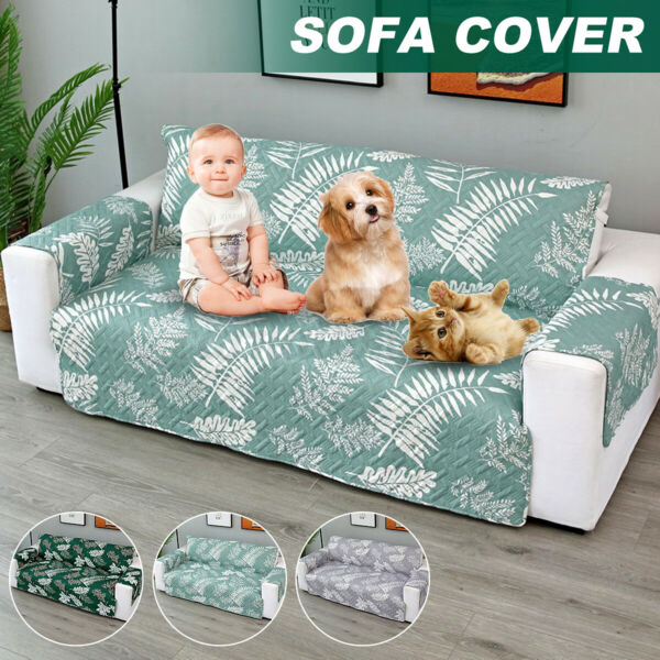 3Seater Sofa Slipcover Cover Couch Pet Dog Kid Furniture Protector Mat h $31.10