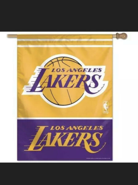 Los Angeles Lakers Vertical Home Banner Flag $28.95