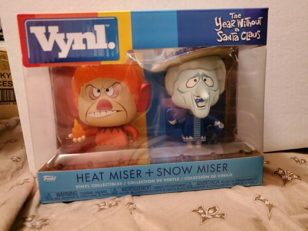Funko VYNL Year Without A Santa Claus Heat Miser Snow Miser RETIRED RARE