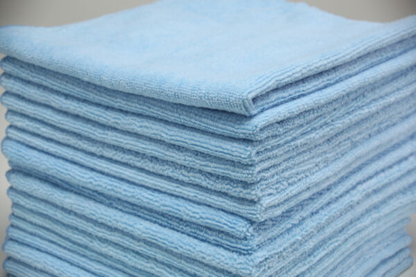 Microfiber Car Cleaning Cloths Kitchen Dish Car Wash Towel Absorbent Rags 16x16 $22.99