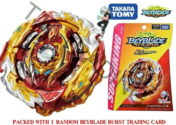 Takaratomy Beyblade Burst Superking Sparking B 172 World Spriggan Unite 2B US