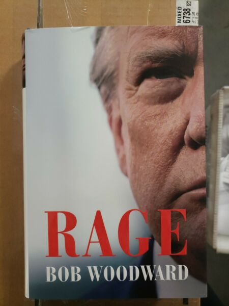 RAGE by Bob Woodward NEW Hardcover