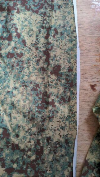 SWAMP CAMO Cotton Fabric Print 1 By The Yard 60quot; wide