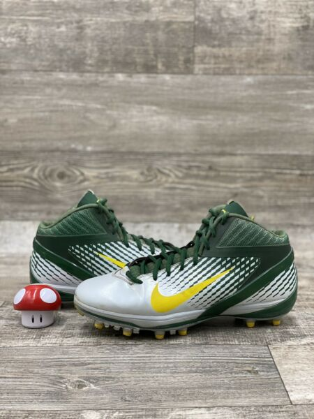 Nike Oregon Ducks Zoom Code Elite 3 4 Shark Player Issued Football Cleat PE 11