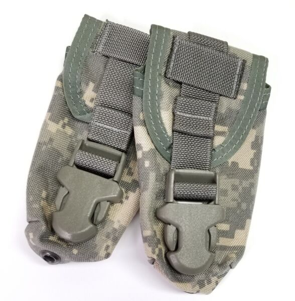 2 Allied Industries Army ACU Flash Bang Pouch MOLLE NSN Tourniquet 2005 $6.95