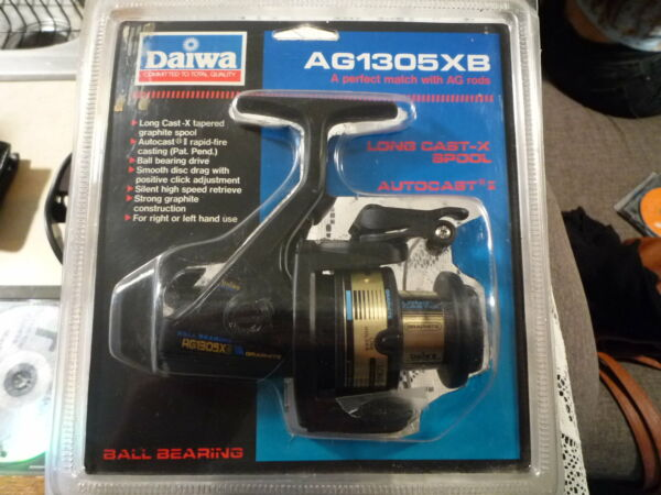 DAIWA Long Cast X Fishing Reel Model AG1305XB Brand New in Sealed Clamshell