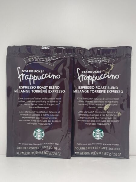 STARBUCKS FRAPPUCCINO ROAST COFFEE FOR BLENDED BEVERAGES CHOOSE YOUR PACK