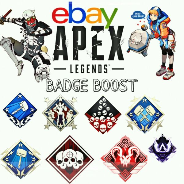 Apex Legends Any badge XBOX PS4 $25.00