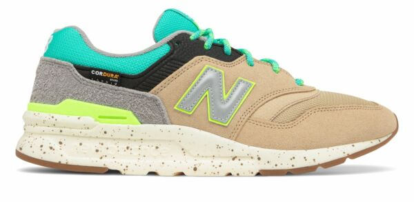 New Balance Men#x27;s 997H Shoes Tan with Blue $46.86