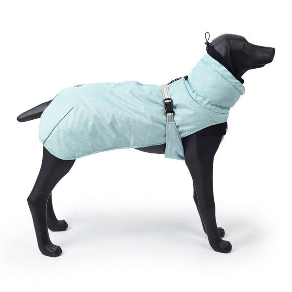 5 Size Winter Dog Clothes Small Large Big Dogs Waterproof Pet Coats Vest Jacket $49.99