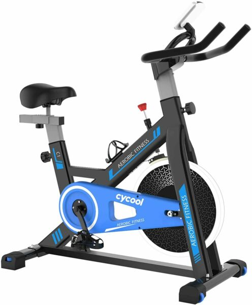 Cycool Stationary Bike Exercise Belt Drive Indoor Cycling for Home Gym Cardio $429.00