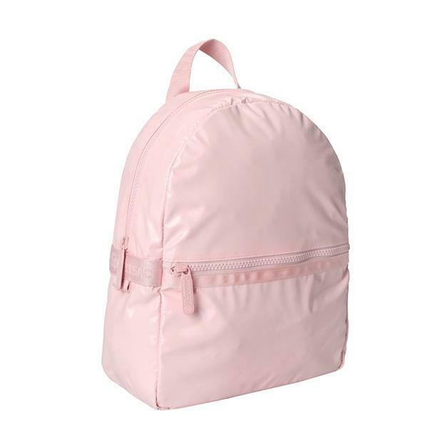 LeSportsac Solid Collection Small Carrier Backpack in Shiny Blush NWT $121.00