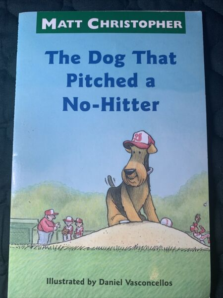 The Dog That Pitched a No Hitter Matt Christopher Sports Readers GOOD $4.99
