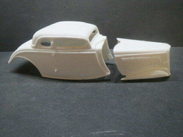 34#x27; Chopped Top 5 Window 1 25 Resin Body from Fremont Racing Specialties $20.00