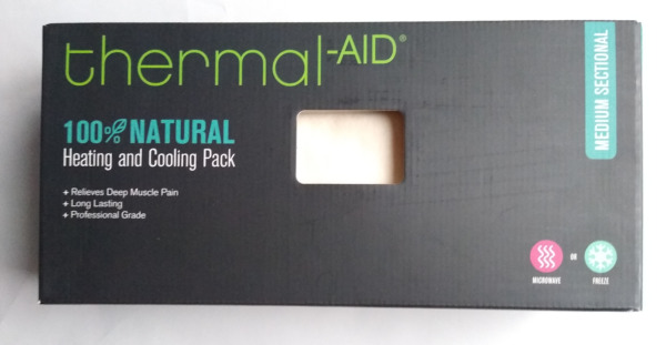 100% Natural Heating and Cooling Pack Medium Sectional Relieves Muscle Pain $35.97