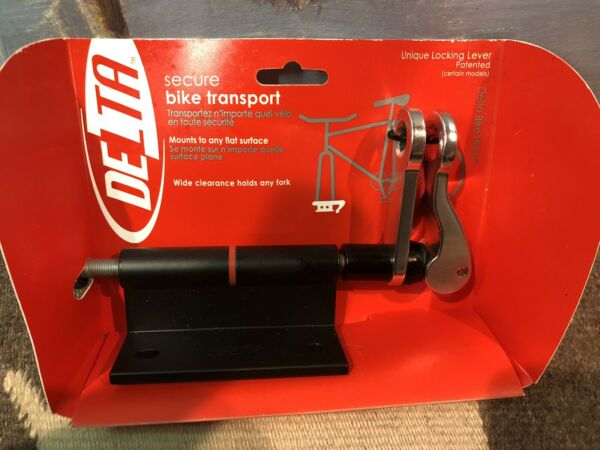 Delta Bike Hitch Pro Rack Locking Lever Cycling Fork Mount $24.00