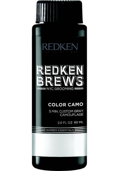 Redken Brews For Men 5 Minute Color Camo For Grey Hair Natural Look $12.00