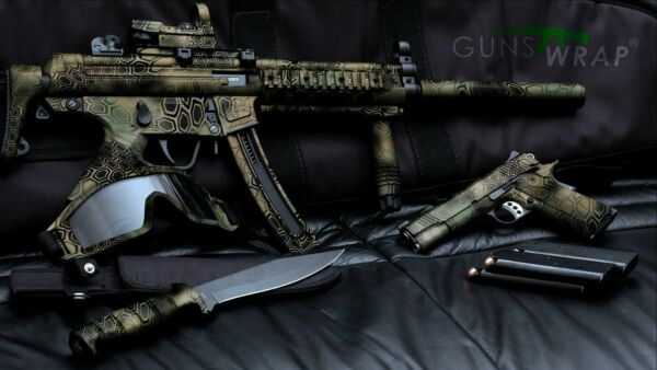 Camo Roll Skin Sota 17 78quot;x39quot; 20x100 sm Best protection strong fixing on gun