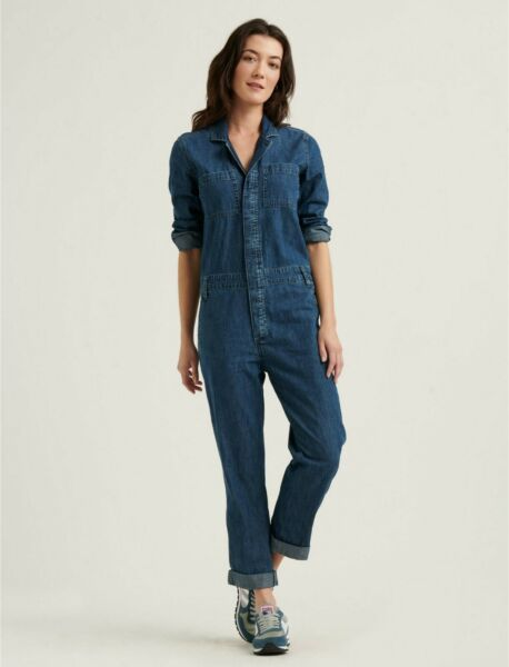 LUCKY BRAND Boiler Suit Jumpsuit Retails NWT $129 $89.99