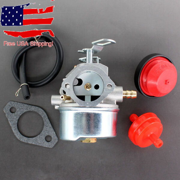 Carburetor Kit For 8HP Engine MTD YARD MACHINES SNOW BLOWER Rep 317E644E302 Carb