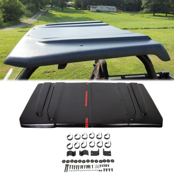NEW Black Polyethylene Hard Top Roof For John Deere JD Gator 625 825i UTV $198.50