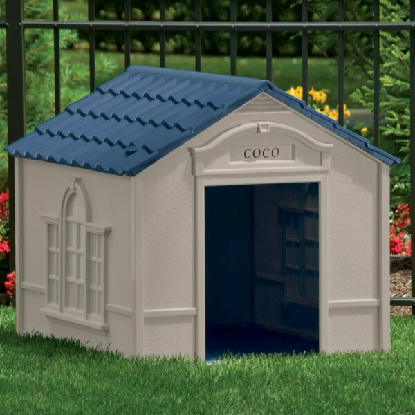 XXL Dog Kennel For X Large 100 Lbs Outdoor Pet Cabin House Big Shelter $137.06