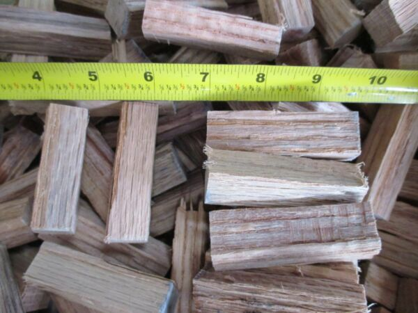 Seasoned Red Oak Wood for Grilling Smoking Barbecue Chunklets Size $14.85