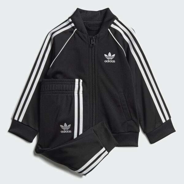 ADIDAS BABY amp; TODDLER SUPERSTAR TRACKSUIT GD2625
