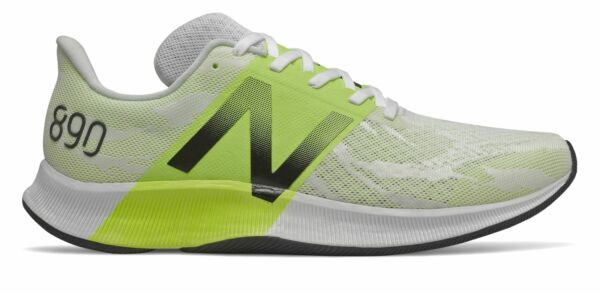 New Balance Men#x27;s FuelCell 890v8 Shoes White with Green