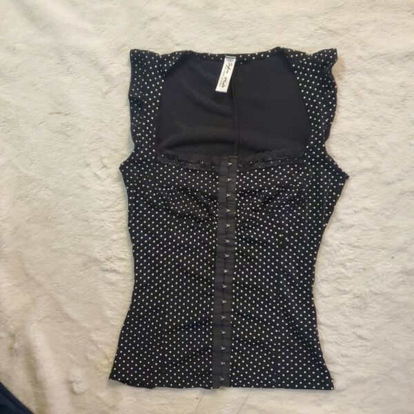 Retro Rockabilly vintage Corset Top MEDIUM small