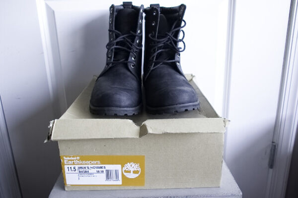 Timberland Earthkeepers 6 Inch Boot Black Size 11.5 $69.99