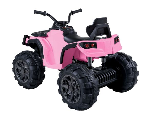 Pink 12V Kids Ride On ATV Car Electric Toy Quad 4 Wheels Suspension Music Light $165.90
