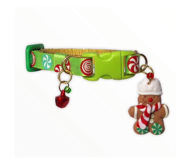 Christmas Collars for Dog and Cats Collares para Perros y Gatos. Small Pets $15.00