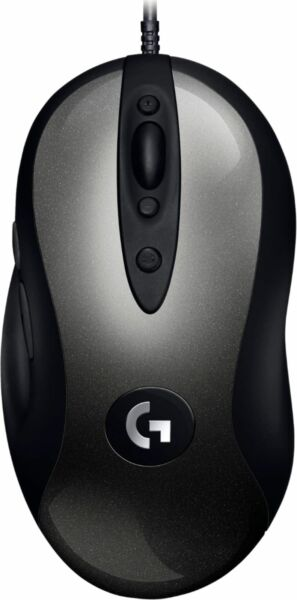 Logitech G MX518 Wired Optical Gaming Mouse Black Gray