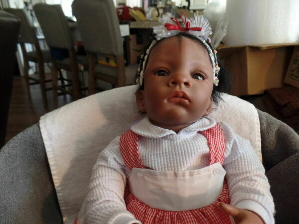 Ashton Drake Baby Girl Doll Life Like Jasmine#x27;s First Birthday