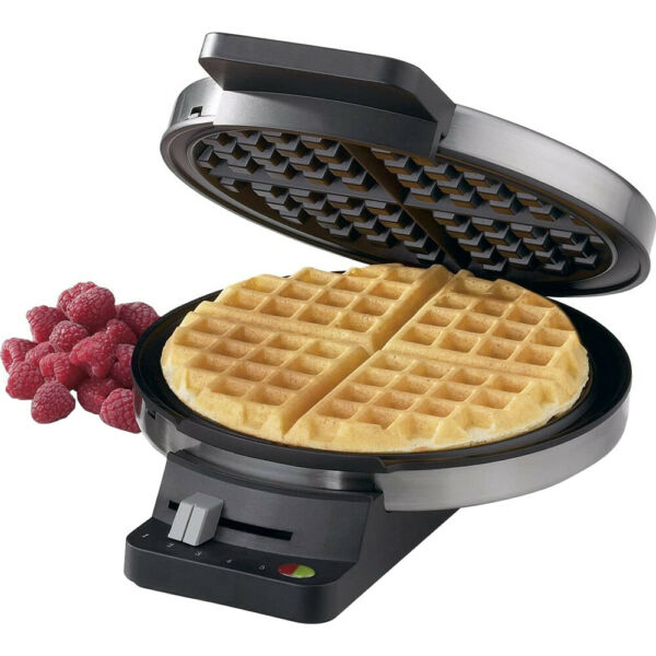 Cuisinart Round Classic Waffle Maker WMR CA Silver $20.00