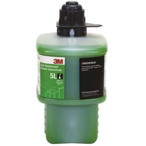 3M Twist N Fill 5L 2 Liters Quat Disinfectant Cleaner Concentrate 23884 $39.95
