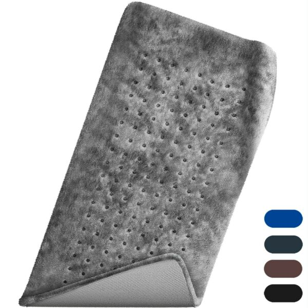 XL Electric Heating Pads for Back Neck Heating Pad Fast Pain Relief Tabby Gray $29.98