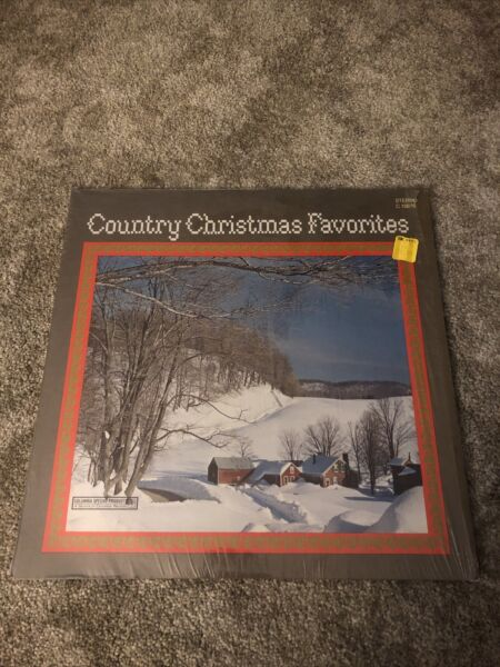Country Christmas Favorites Vinyl 33 Record LP 1972 Johnny Cash Tammy Wynette