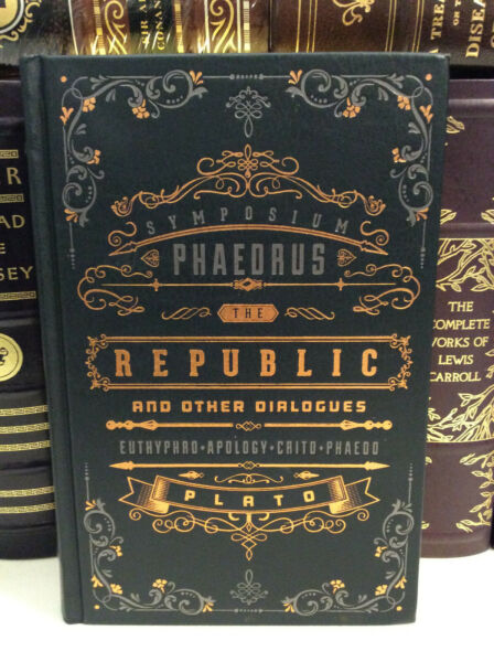 The Republic and Other Dialogues of Plato leather bound